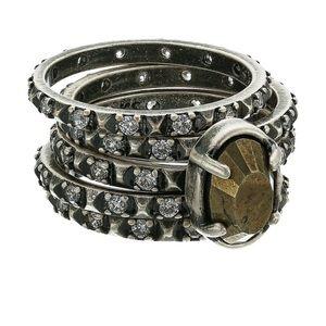 Kendra Scott Reya stackable ring set size 7